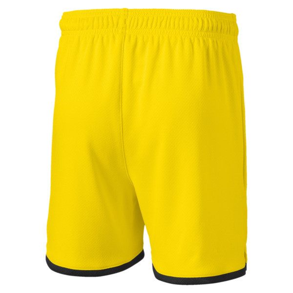 BVB Boys' Replica Shorts, Cyber Yellow-Puma Black, large