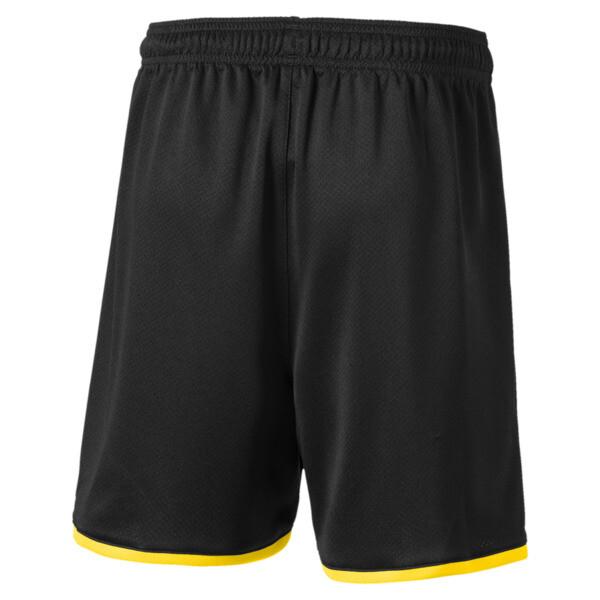 BVB Boys' Replica Shorts, Puma Black-Cyber Yellow, large