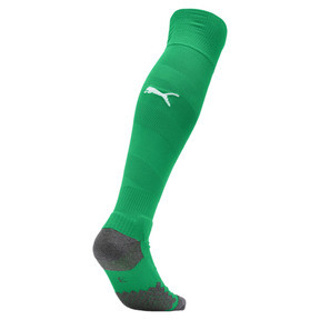 Thumbnail 2 of BVB Men's Spiral Socks, Bright Green-Puma White, medium