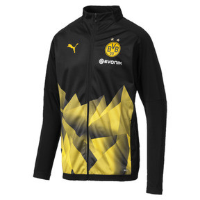 Internationaal replica-stadionjack van BVB voor heren