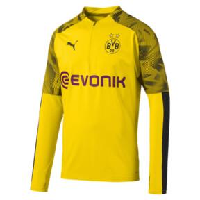 Camiseta de entrenamiento de BVB con cierre 1/4 para hombre