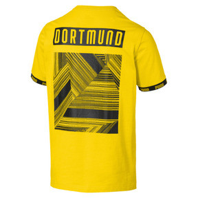 Thumbnail 5 of BVB Football Culture Men's Tee, Cyber Yellow, medium