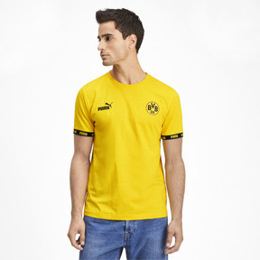 Thumbnail 1 of BVB Football Culture Men's Tee, Cyber Yellow, medium