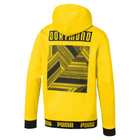 Thumbnail 5 of BVB Football Culture Men's Hoodie, Cyber Yellow, medium