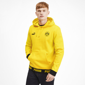 Thumbnail 1 of BVB Football Culture Men's Hoodie, Cyber Yellow, medium
