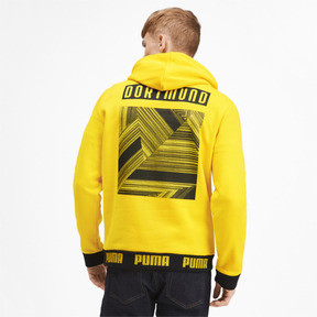 Thumbnail 2 of BVB Football Culture Men's Hoodie, Cyber Yellow, medium