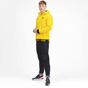 Thumbnail 3 of BVB Football Culture Men's Hoodie, Cyber Yellow, medium