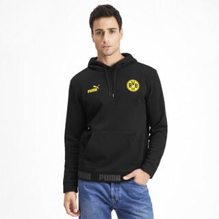 Görüntü Puma BVB Football Culture Kapüşonlu Erkek Sweatshirt