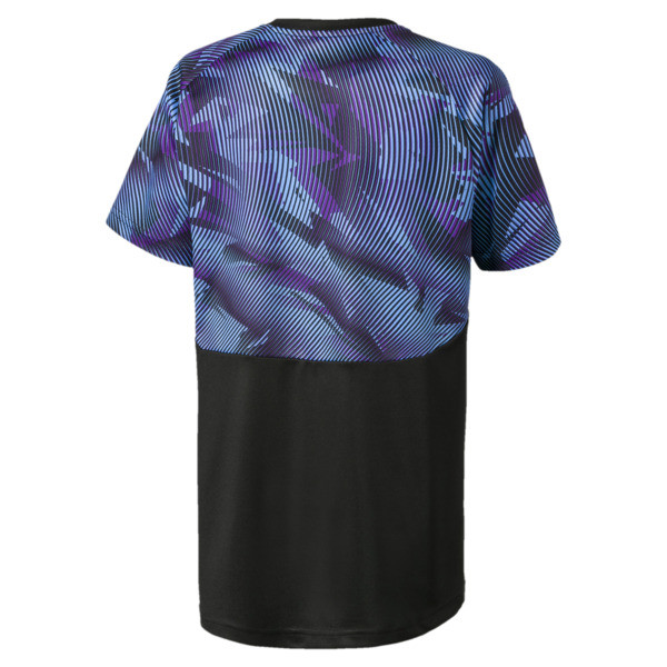 Man City Kids' Training Jersey, Puma Black-Team Light Blue, large