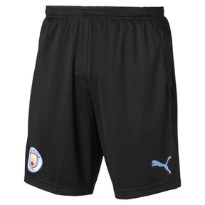 63618255e3 Manchester City FC Men's Training Shorts, Puma Black-Team Light Blue, medium