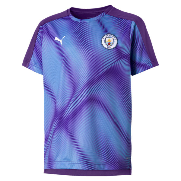 Man City Stadium League Kids' Jersey, TillandsiaPurple-TeamLightBl, large