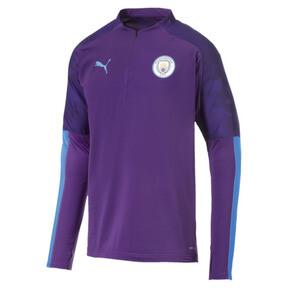 Manchester City FC Men's 1/4 Zip Top