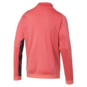 Thumbnail 2 of Man City Stadium League Women's Jacket, Georgia Peach-Puma Black, medium