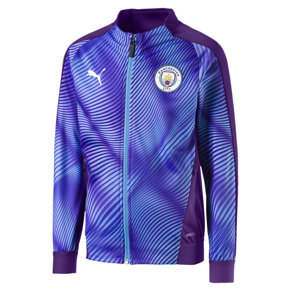 Image Puma Man City Stadium League Kids' Jacket #1