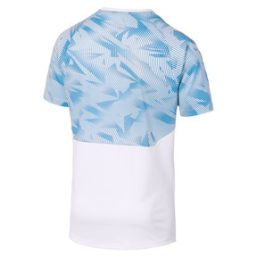 Thumbnail 5 of Olympique de Marseille Herren Trainingstrikot, Puma White-Bleu Azur, medium