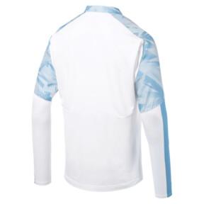 Thumbnail 5 of Olympique de Marseille Men's 1/4 Zip Training Top, Puma White, medium