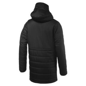 Thumbnail 5 of Olympique de Marseille Bench Men's Replica Reversible Jacket, Puma Black-Orange Popsicle, medium