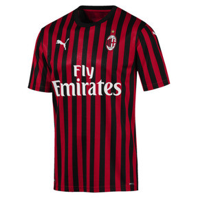 Camiseta de manga corta de hombre AC Milan Home Authentic