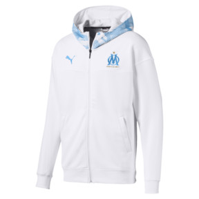 Olympique de Marseille Casuals Men's Zipped Hoodie