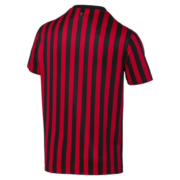 AC Milan Men's Home Replica Jersey, Tango Red -Puma Black, large
