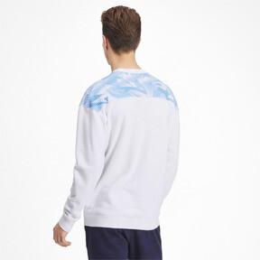 Thumbnail 2 of Olympique de Marseille Casuals Men's Sweater, Puma White-Bleu Azur, medium