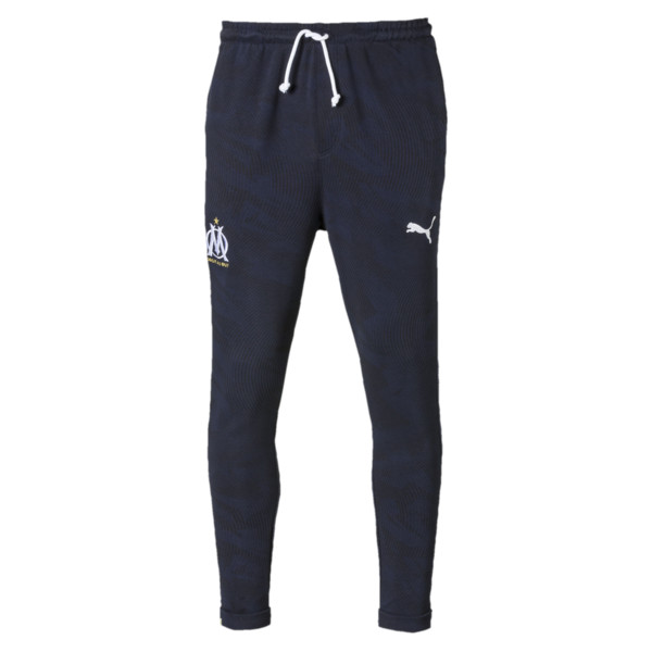 Olympique de Marseille Casuals Men's Sweatpants, Peacoat, large