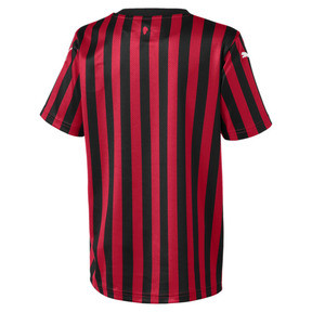 Thumbnail 2 of AC Milan Home Replica Kids' Jersey, Tango Red -Puma Black, medium