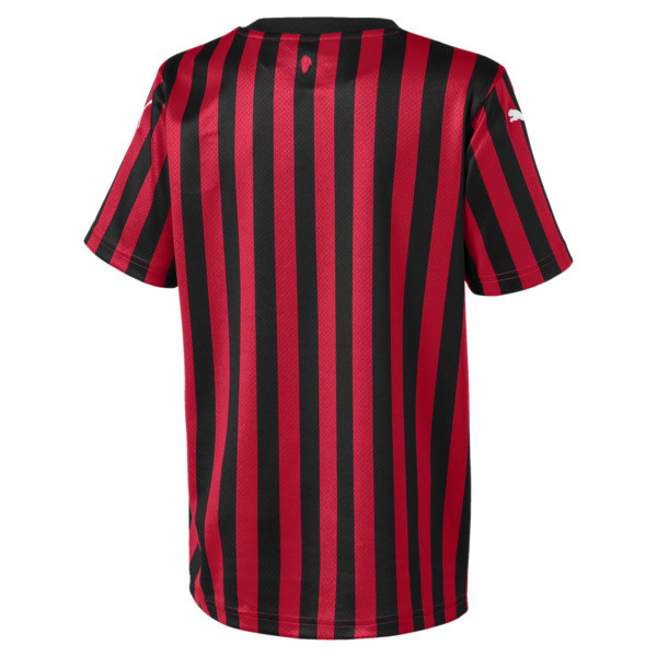 AC Milan Home Replica Kids' Jersey, Tango Red -Puma Black, large