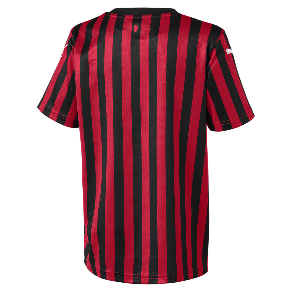 Image Puma AC Milan Home Replica Youth Jersey #2