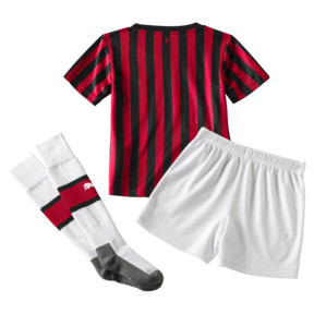 Thumbnail 2 of AC Milan Home Replica Babies' Mini Kit, Tango Red -Puma Black, medium