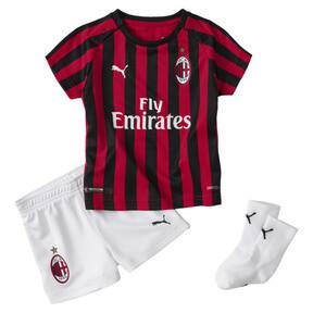 Mini set Domicile AC Milan avec chaussettes pour bébé