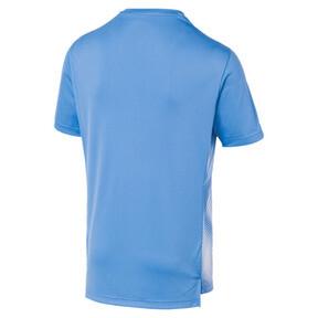 Thumbnail 2 of Olympique de Marseille Men's Domestic League Stadium Jersey, Bleu Azur-Puma White, medium