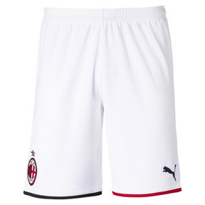 Thumbnail 1 of AC Milan Men's Away Replica Shorts, Puma White-Tango Red, medium