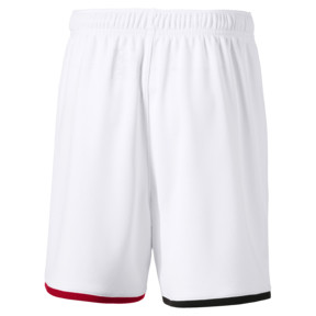 Thumbnail 2 of AC Milan Replica Kids' Shorts, Puma White-Tango Red, medium