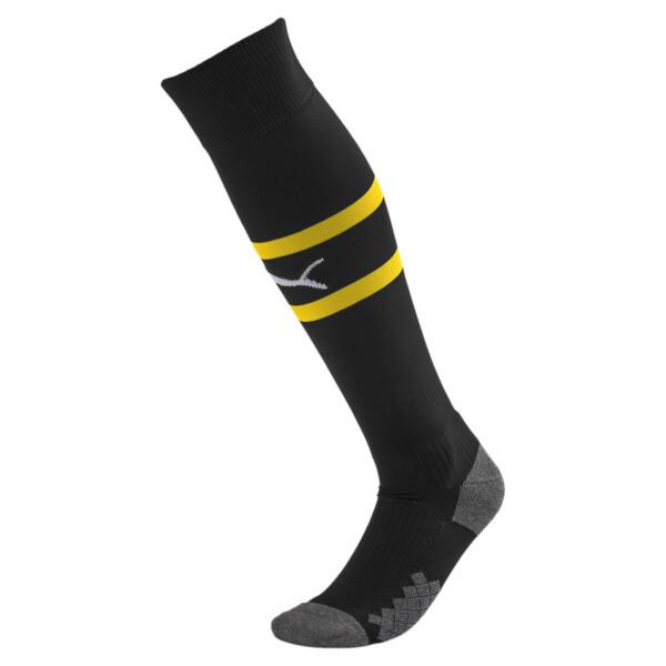 AC Milan Herren Band Socken, Puma Black-Cyber Yellow, large