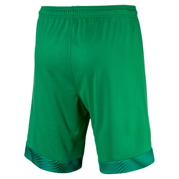 BVB Men's Replica Goalkeeper Shorts, Bright Green, large