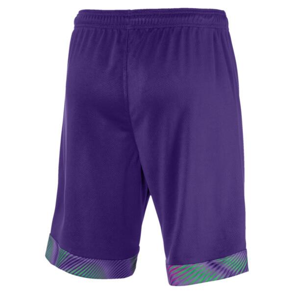 BVB Men's Replica Goalkeeper Shorts, Prism Violet, large
