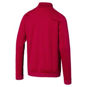 Thumbnail 2 of AC Milan Stadium Men's Jacket, Tango Red -Puma Black, medium