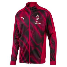Thumbnail 1 of AC Milan Stadium Men's Jacket, Tango Red -Puma Black, medium