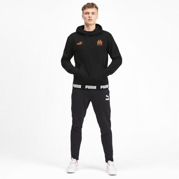 Olympique de Marseille FtblCulture Men's Hoodie, Puma Black, large