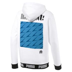 Thumbnail 5 of Olympique de Marseille Men's Football Culture Hoodie, Puma White, medium