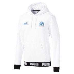 Thumbnail 4 of Olympique de Marseille Men's Football Culture Hoodie, Puma White, medium