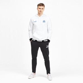 Thumbnail 3 of Olympique de Marseille Men's Football Culture Hoodie, Puma White, medium