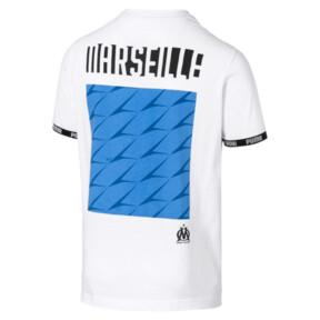 Thumbnail 5 of Olympique de Marseille FtblCulture Men's Tee, Puma White, medium