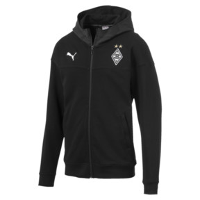 Borussia Mönchengladbach Casuals Men's Hooded Jacket
