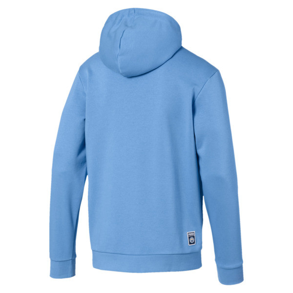 Manchester City Herren Shoe Tag Hoodie, Team Light Blue-Puma White, large