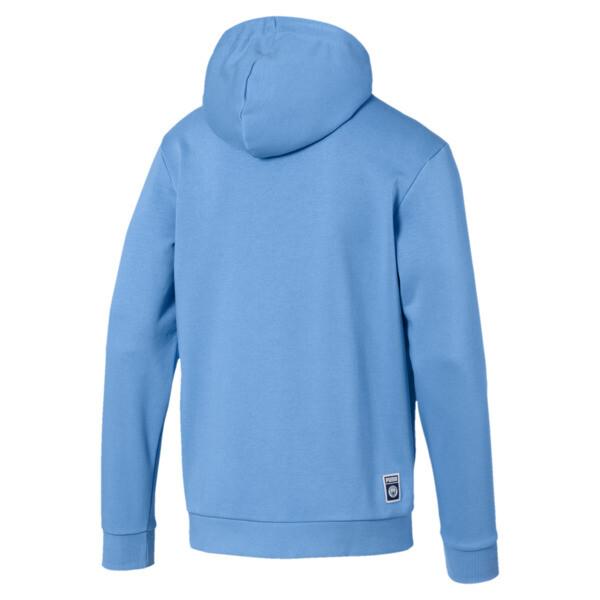 Manchester City FC Men's Shoe Tag Hoodie, Team Light Blue-Puma White, large