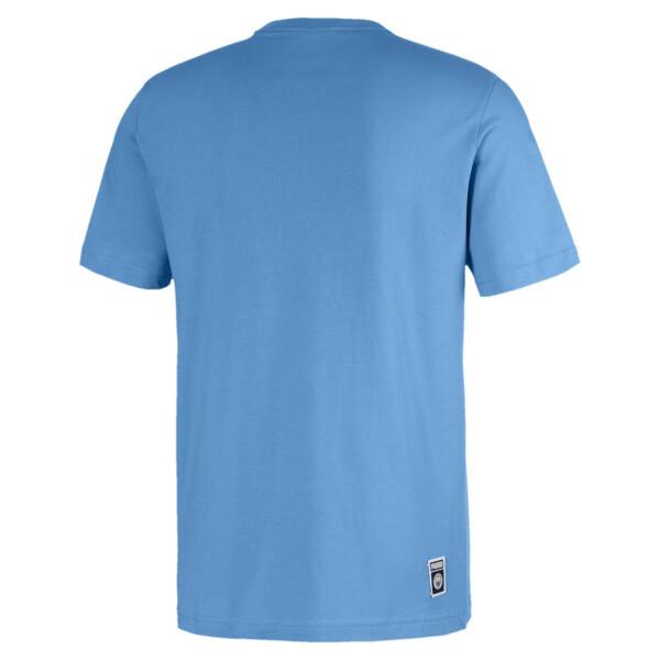 T-Shirt  Manchester City Shoe Tag pour homme, Team Light Blue-Puma white, large