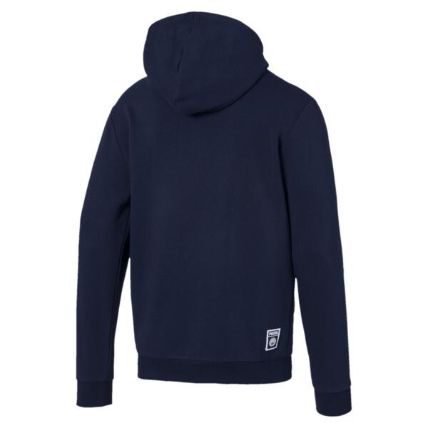 Manchester City FC Men's Graphic Hoodie, Peacoat-Team Light Blue, large
