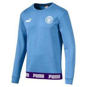 Thumbnail 1 of Man City Men's Football Culture Sweater, Team Light Blue-Puma White, medium
